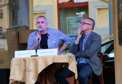 Az Ünnepi Könyvhét vendége Darvasi László és Szilasi László